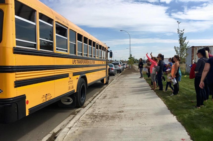 Minor hiccups as shared school bus pilot project launches