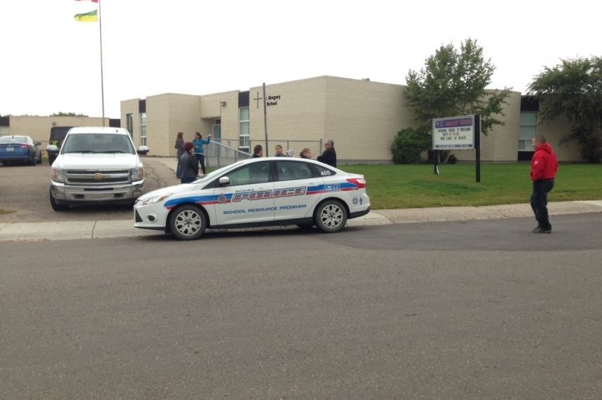 Two men arrested after Regina elementary schools were secured