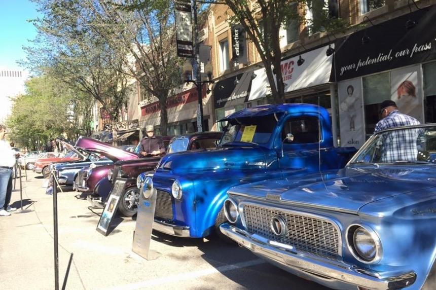 Classic cars and rock guitars: Show & Shine weekend takes over downtown Saskatoon