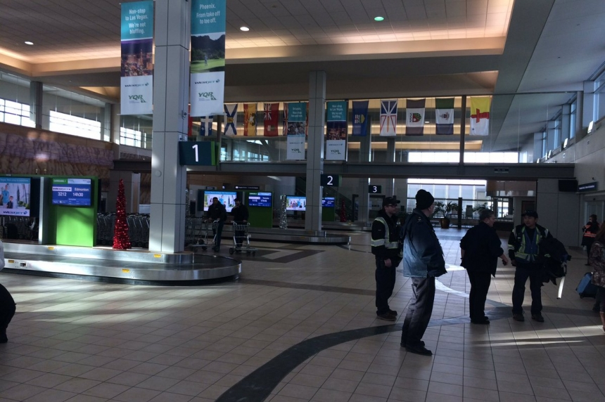 Woman wants apology, new laptop after security incident at Regina airport