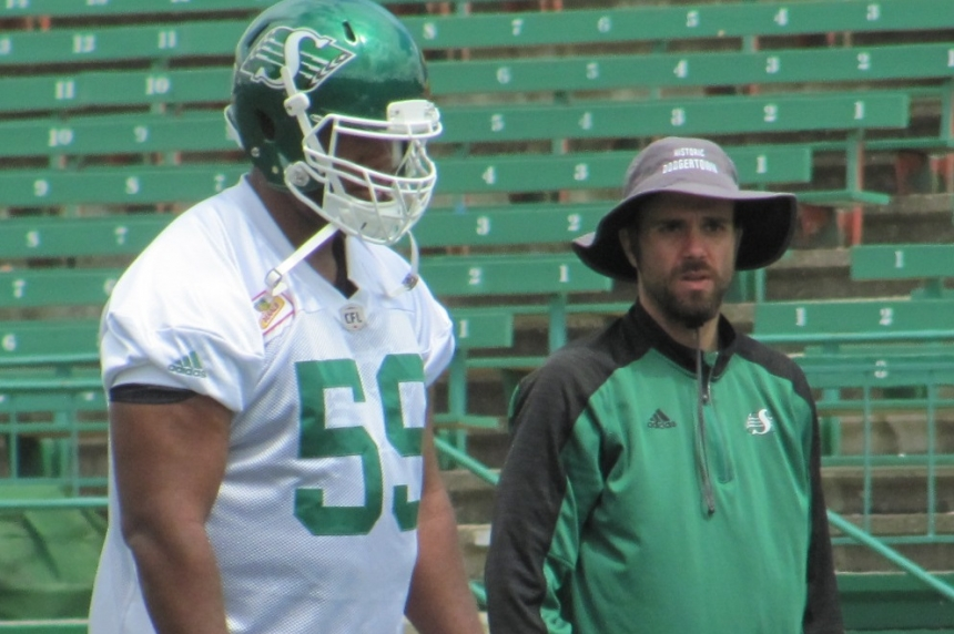 'I want to be there so bad': 1st overall pick St. John joins Roughriders after holdout