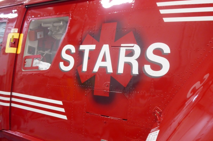 6 taken to hospital after vehicle hits slough near Edenwold