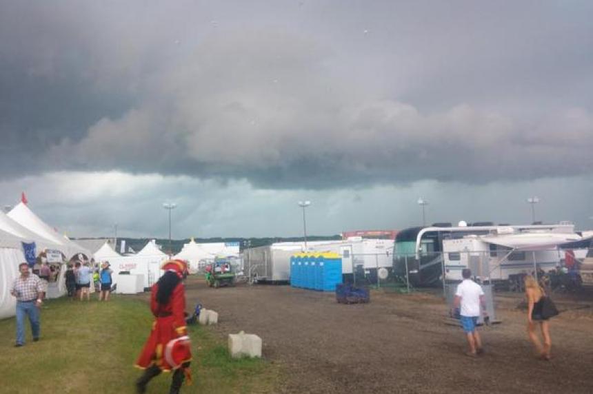 Storms rain on southern Sask., Craven