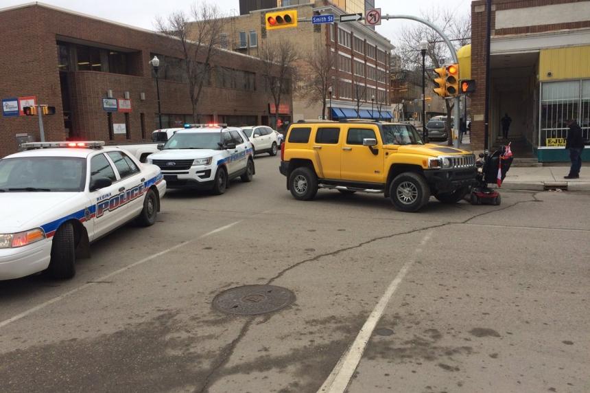 Morning crash in Regina sends 83-year-old man to hospital