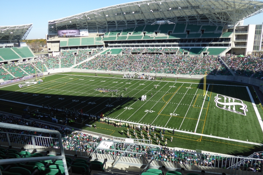 The city says initial feedback of the test event at new Mosaic Stadium was 'overwhelmingly positive'