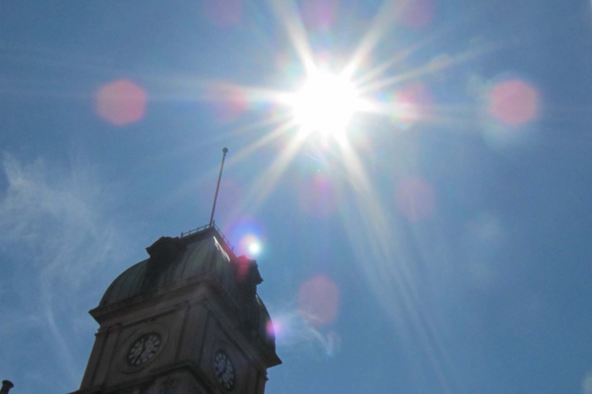 Heat warning issued for Estevan