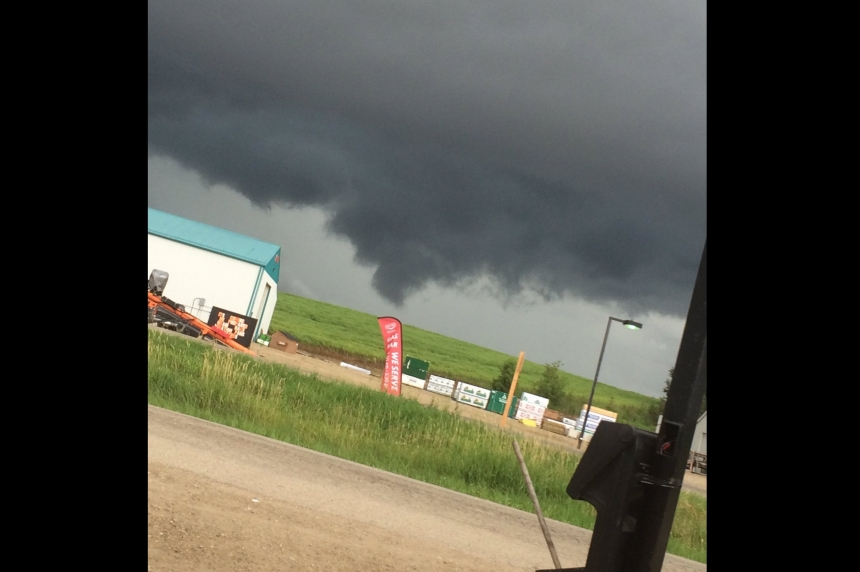 Tornado and storm warnings short-lived for southeast Sask.