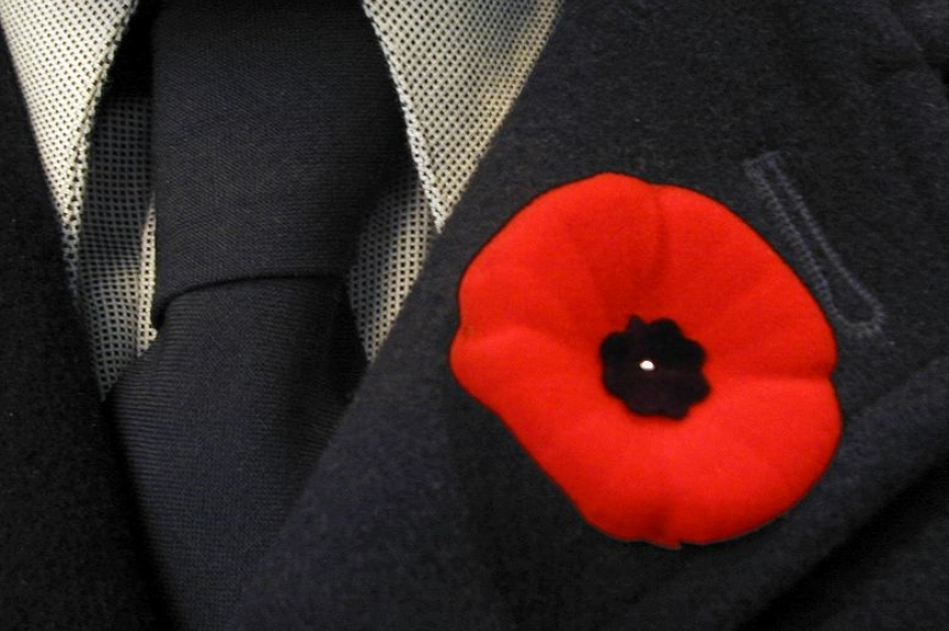 Friday marks the 1st day to wear your poppy