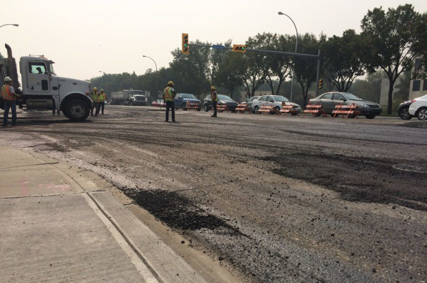 Some projects delayed after long, dry Regina construction season
