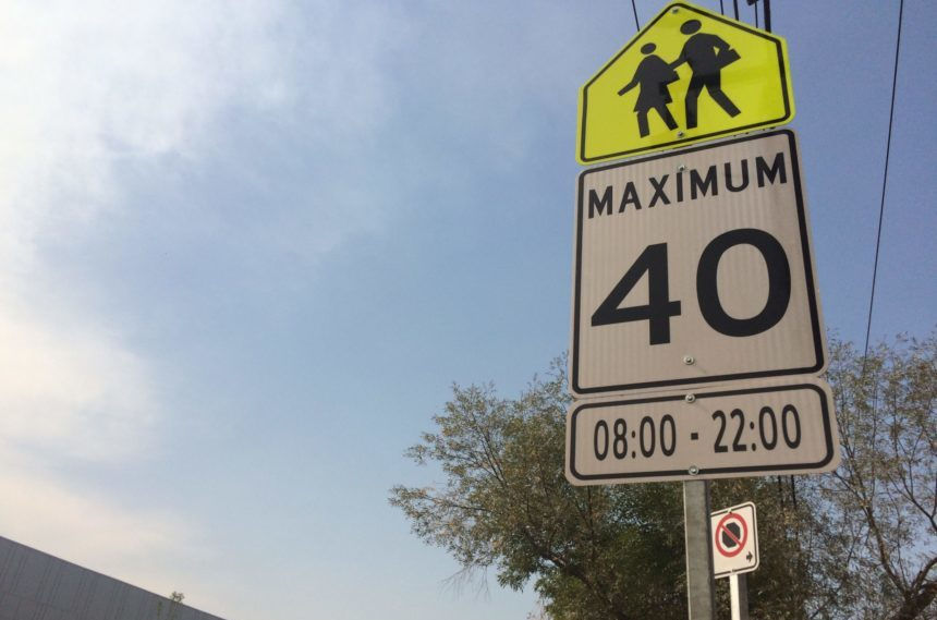 Reduced speed limits could be coming to Regina school zones