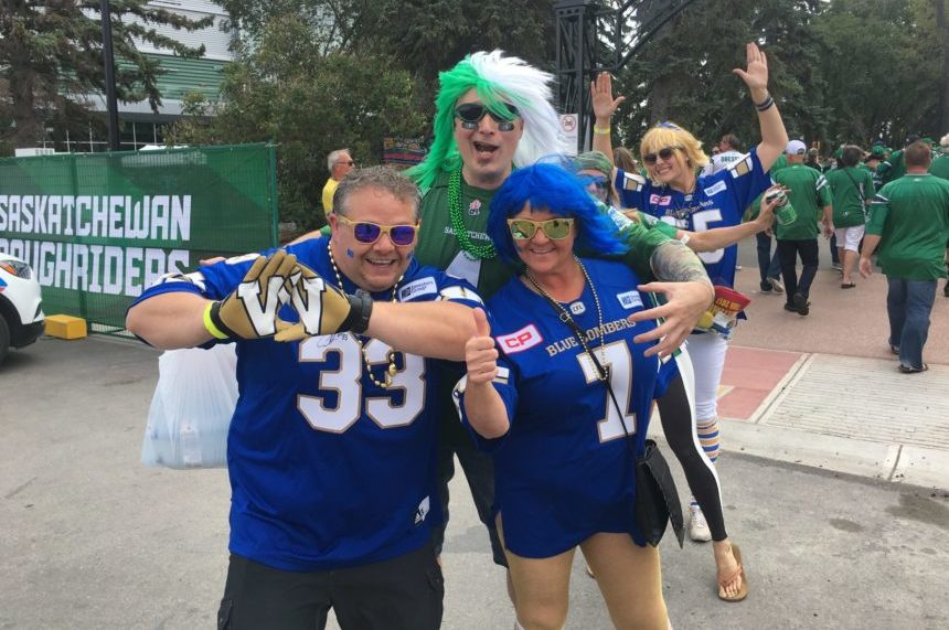 'They're green, dirty:' Bomber fan on Labour Day Classic