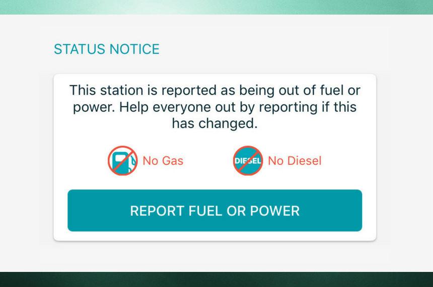Sask. app helping people fleeing Irma find gas