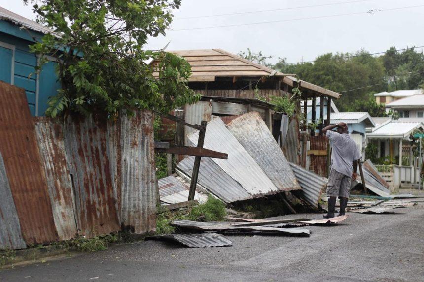 Rains from monster Hurricane Irma begin hitting Puerto Rico