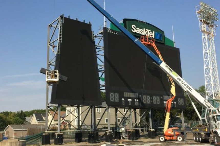Old Mosaic scoreboard finds new home at Leibel Field