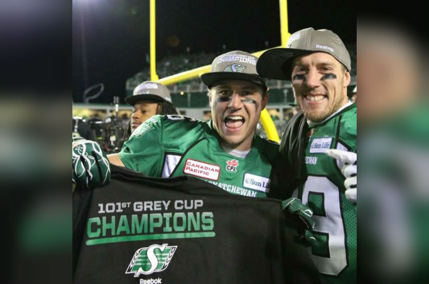 Chris Getzlaf returns to Riders' practice roster