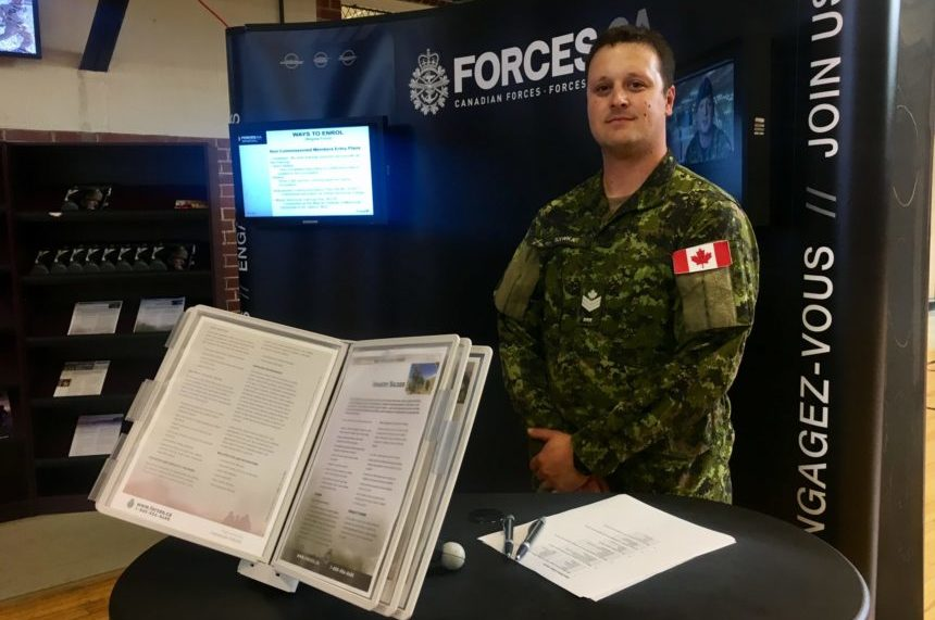 Regina Armoury open house aims to beef up reservist recruitment