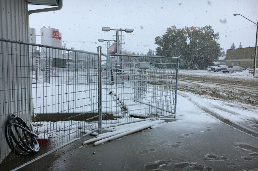 Winter storm hits southwest Sask.