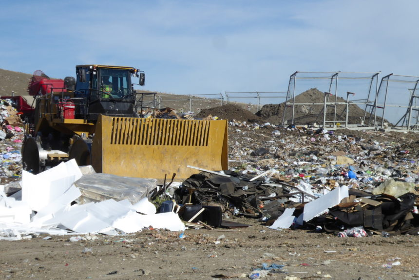 City landfill, SaskPower prepare for powerful wind