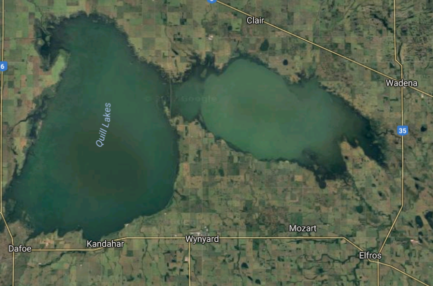 Quill Lakes flooding prevention continues despite protests