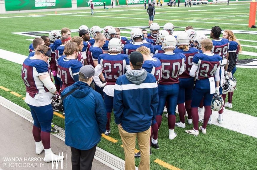 Regina Thunder fall 35-22 to the Winnipeg Rifles