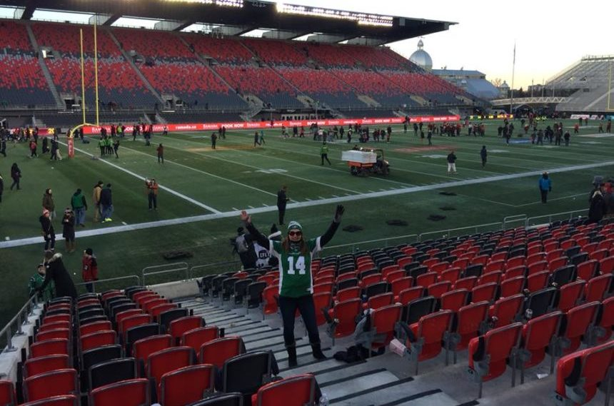 Rider fans mirror team's travels during playoffs