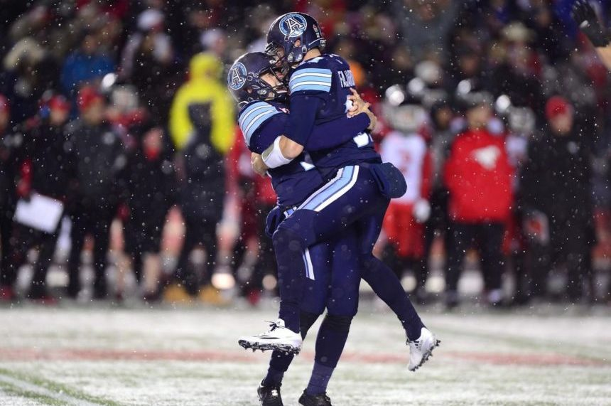 Hajrullahu's field goal earns Argos stunning Grey Cup win over Stampeders