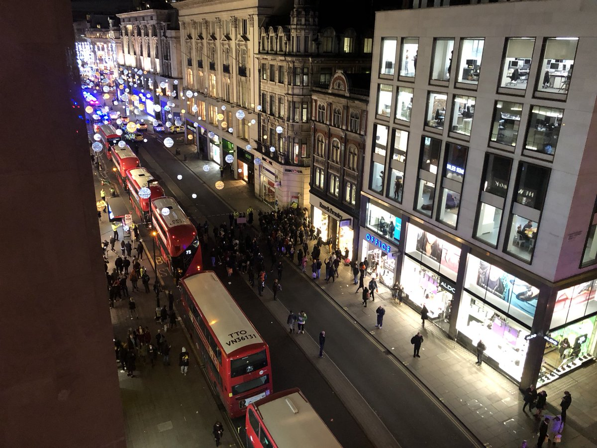 UPDATE: Oxford Circus station reopened after brief security alert