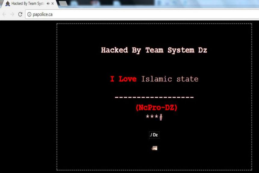 Prince Albert police website breached by hacker