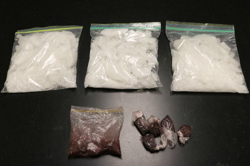 Sask. drug trafficking investigation nets 2 arrests