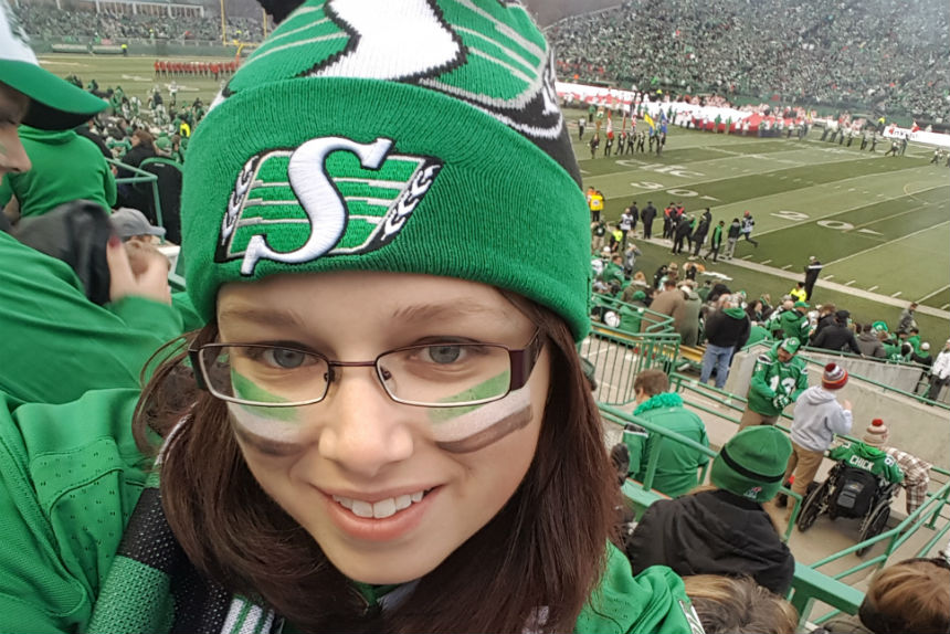 Rider fans gear up for playoff game in Ottawa