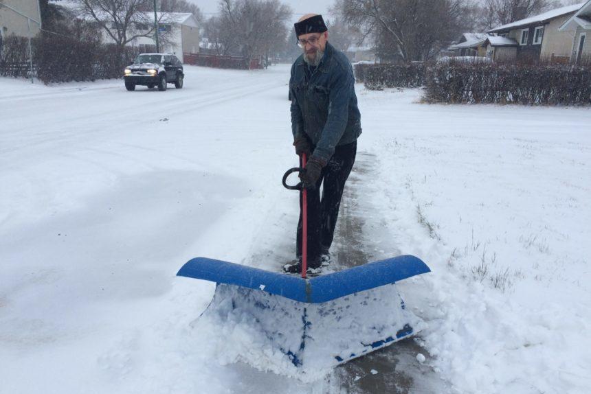 Martel on the Move: Regina man builds homemade 'super shovel'