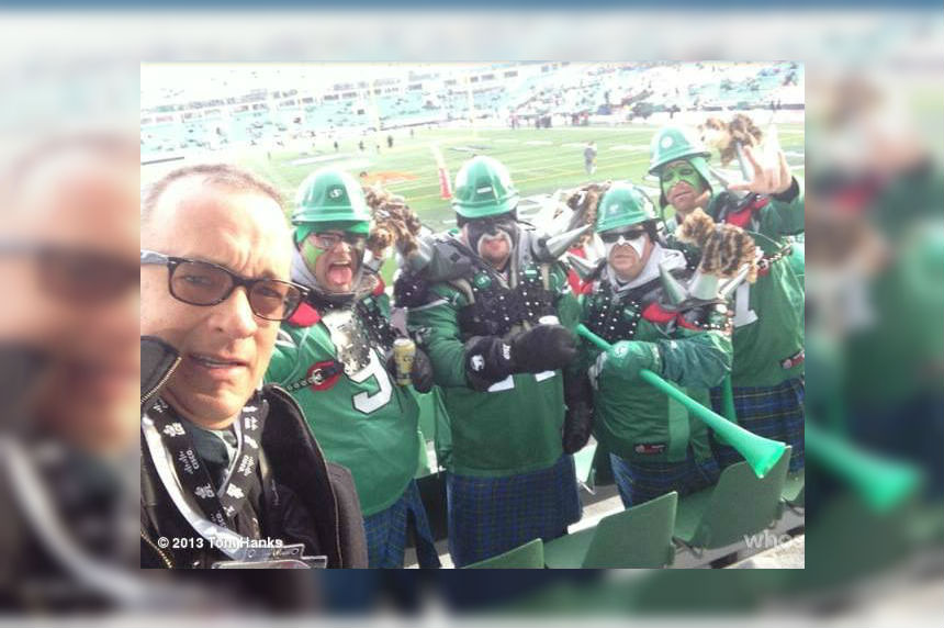 Die-hard Rider group continues Grey Cup tradition