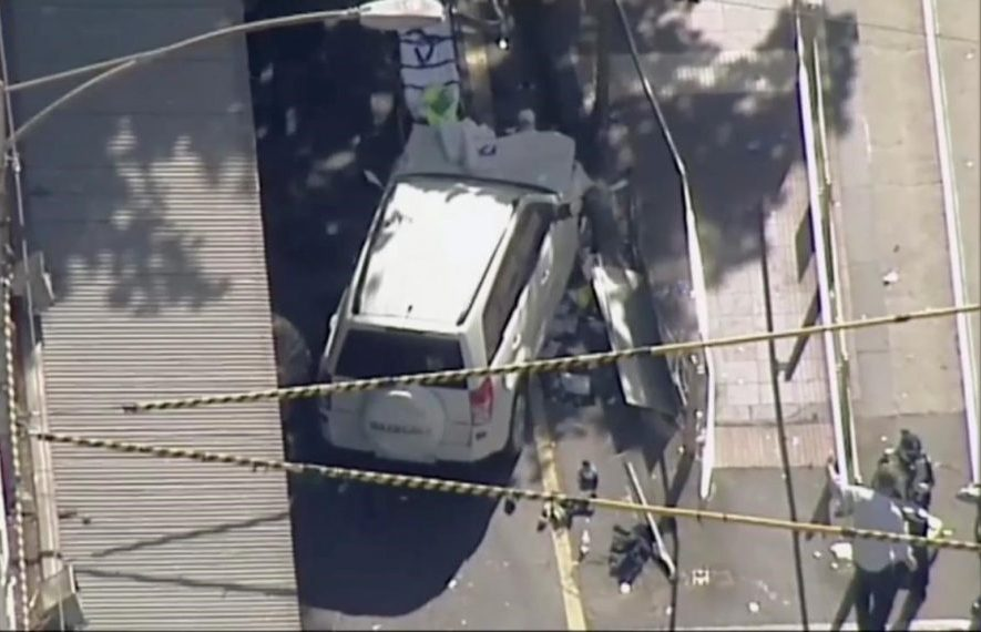 Car rams into pedestrians in Melbourne; 19 injured