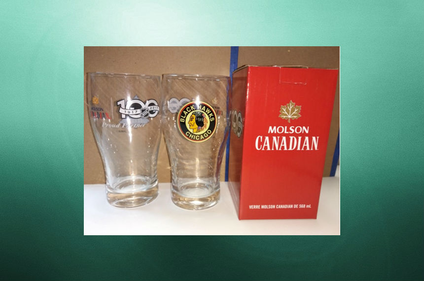 Molson Coors recalling collectible NHL beer glasses; 8 injuries reported