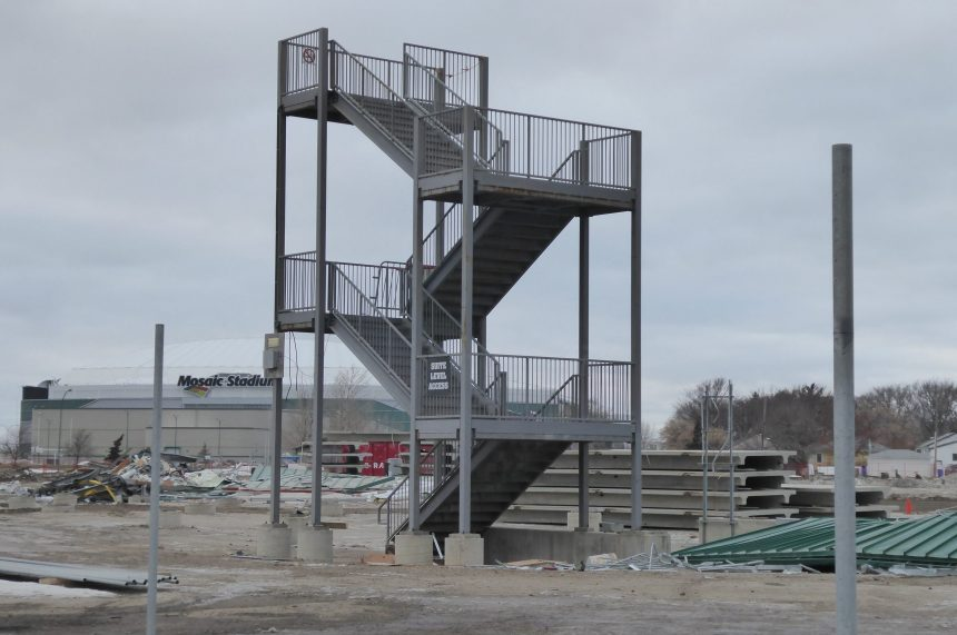 Stairway to Heaven: last Taylor Field structures demolished