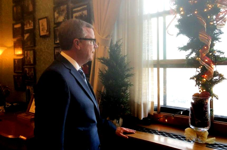 Tributes, tears as Brad Wall says goodbye to the legislature