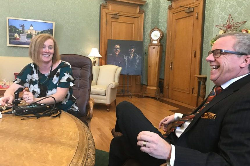 Premier Brad Wall looks to 2018 with excitement, trepidation