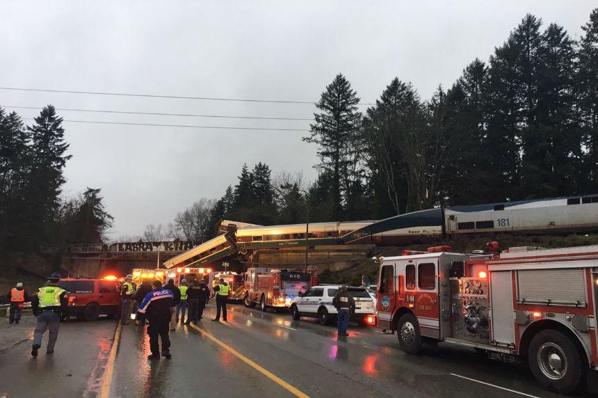 Multiple fatalities in train derailment south of Seattle