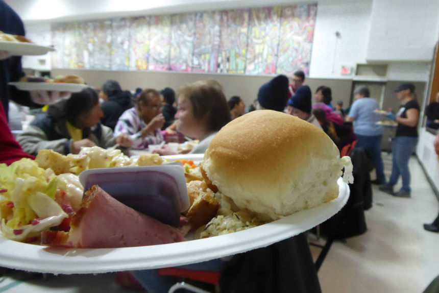 'One big family:' Souls Harbour serves Christmas dinner