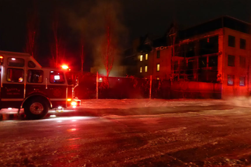 People forced out of Regina apartment due to fire