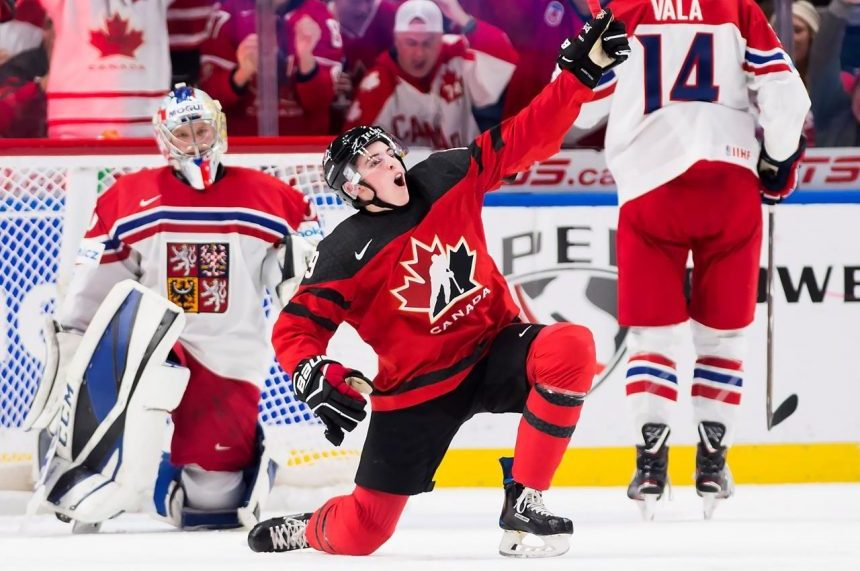 Canada defeats Czech Republic 7-2 in World Juniors semifinal