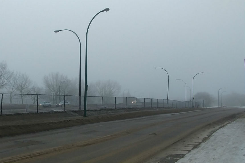 Ice to fog: reduced visibility on highways across Sask.