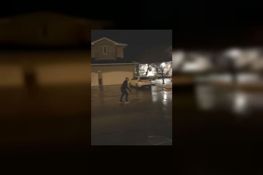 Video of Regina man skating in the streets goes viral