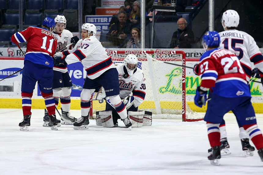 New look Pats fall 4-3 to Edmonton in OT
