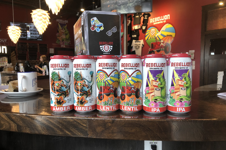 Local brewing company announces Sask.-designed cans