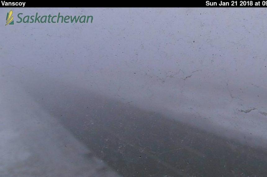 Fog advisory blankets Lloydminster southeast to Oxbow