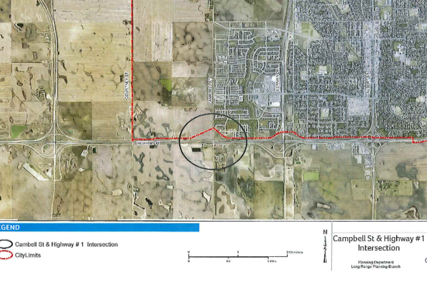 Regina looks to annex land from RM of Sherwood