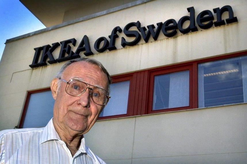 IKEA says founder Ingvar Kamprad has died at 91