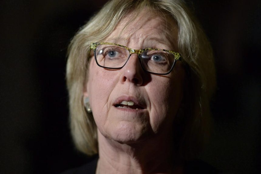 Green Party defends leader Elizabeth May after she's accused of bullying