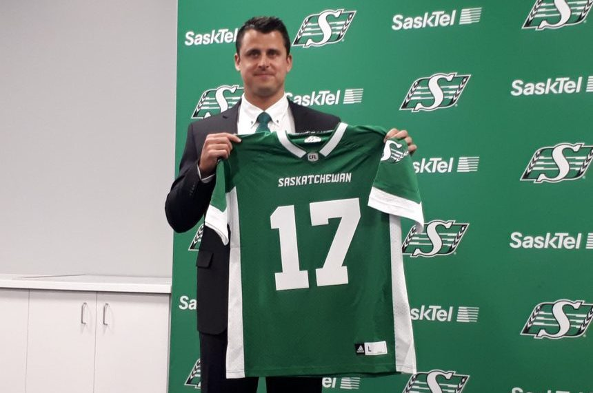 Zach Collaros excited to be part of 'Canada's team'